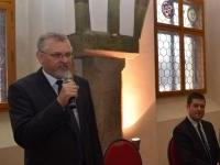 02. Ing. K.Vaverka, předseda OK Jihlava, L.Honzárek, Bc., místopředseda