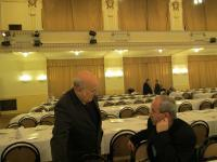 Ing. Michal Hrubý (minulý předseda DR) a Ing. Miroslav Zicháček (tajemník DR)