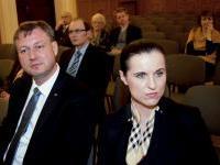 Zleva Ing. Radim Tichý a  PhDr. Dana Marie Staňková, Ph.D., MSc, MBA