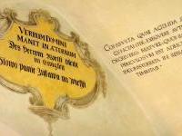 Nástěnné malby jednacího gotického sálu radnice