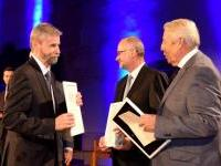 3. Zleva Ing. Ludvík Šajtar, Ing. Milan Veselský a Ing. Pavel Křeček